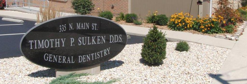 Sulken sign - Fostoria Dentist