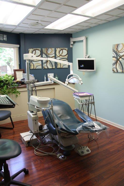 Patient Chair at Dr. Sulken's office - Fostoria Dentist