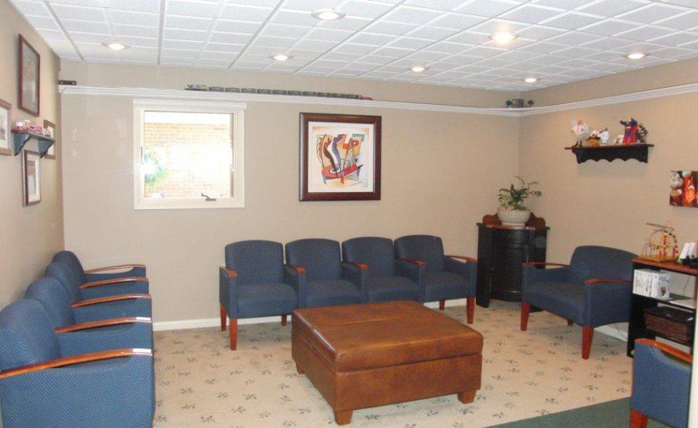 Dr. Sulken's Waiting Area - Fostoria Dentist