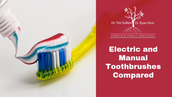 Electric And Manual Toothbrushes Compared
