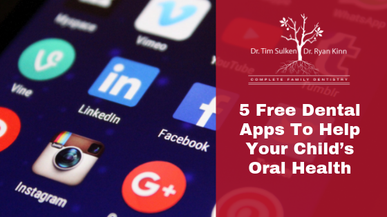 5 Free Dental Apps To Help Your Child's Oral Health